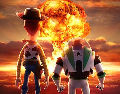 Toy Story - Photoshop Manipulation