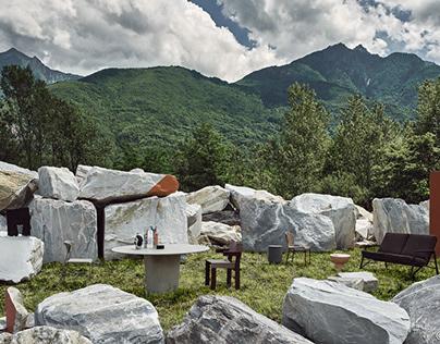 Elle Decor - Outdoor Stones
