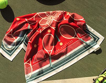 Tennis. Textile Patterns
