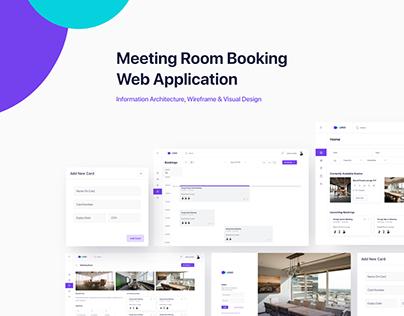 Meeting Room Booking Web Application