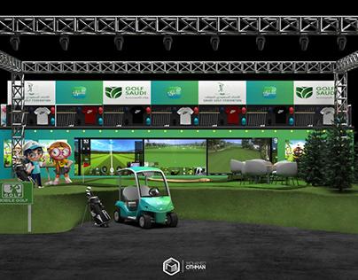 """Mobile Golf"" Ana saudi Truckshow"