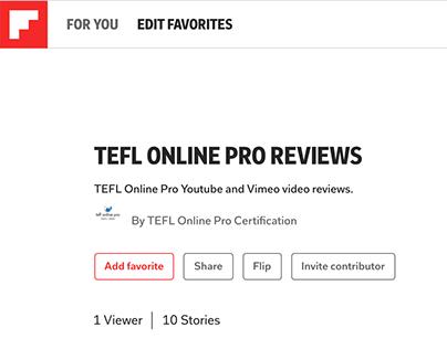 TEFL Online Pro reviews on flipboard.com