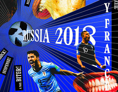 2018 FIFA World Cup Match Posters
