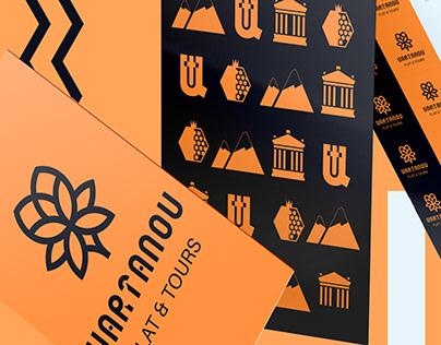 Vartanov Flat & Tours | Brand identity