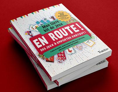 EN ROUTE ! Editions Tourbillon 2019 Livre kit de jeux