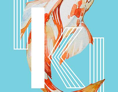 Poster et typographie - Iki