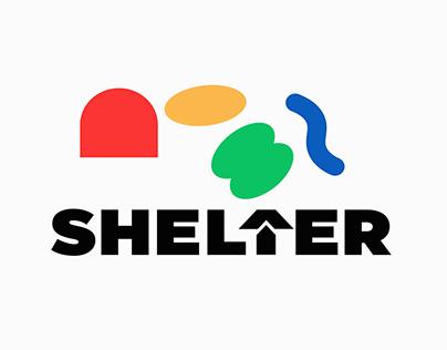 Co-living House for Artist, 'SHELTER' Branding