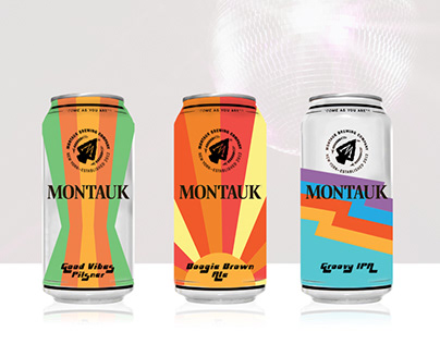 Montauk Brew Co Cans