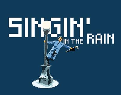 Singin' in the Rain Pixel art