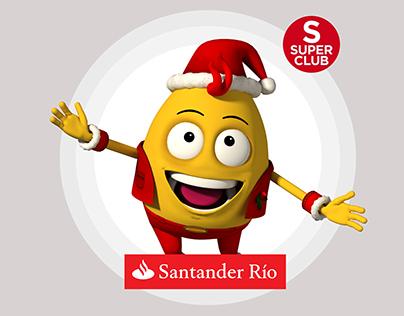 Santander - Kinect game- Character design/Lead Artist