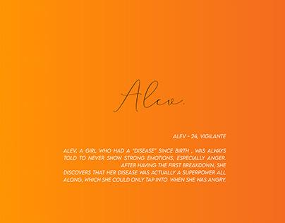 ALEV - CHARACTER DESIGN
