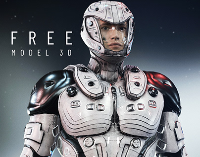 3D MODEL FREE X76 BY Oscar creativo