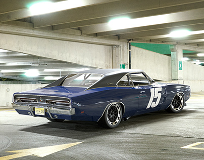 Custom 1969 Dodge Charger R/T CGI