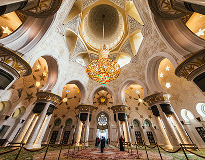 Sheikh Zayed Mosque Projects Photos Videos Logos Illustrations And Branding On Behance