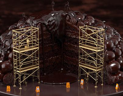Keyshot Men@Work Chocolate & Red Velvet Cake