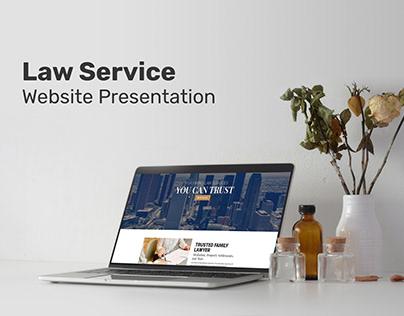 Law Service Website