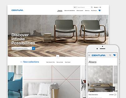 Centura - Site web