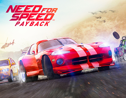 Need For Speed In Game Mission Cover Art Design