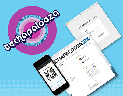 App, dashboard and tickets page for Techapalooza
