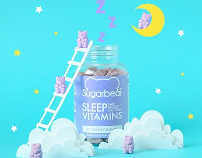 SugarBear Sleep | Paper art