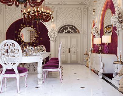 Villa Dining Room Design