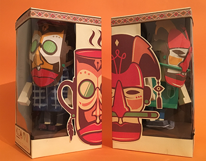 Kijamii paper toys
