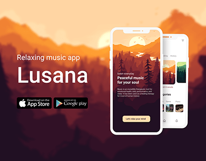 Lusana - Relaxing Music app