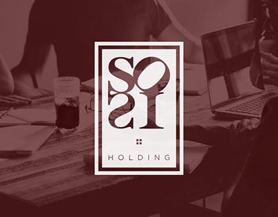 SOSI holding - Branding & website