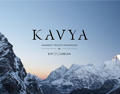 KAVYA Nagarkot - CI + Branding