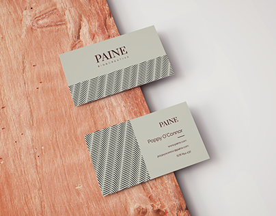 PAINE business card
