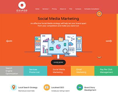 Ovipod.com Web design