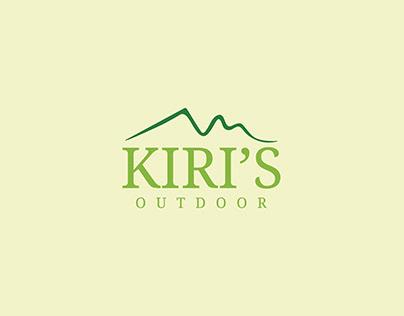 kiri's outdoor - logo and branding design