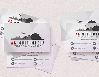 Logo and Business Card   AG Multimedia