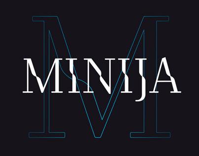 Typeface | Minija Regular
