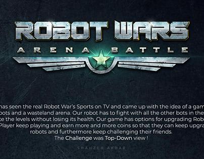 Robot Wars | Game Art