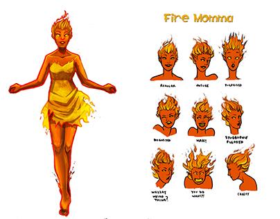 Nani Ahi: Character Fire Momma 4