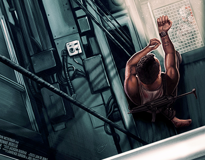 Die Hard (officially licensed print)