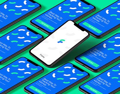 Finpay app logo design