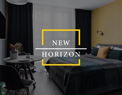 New Horizon | Hospitality Company Web Design