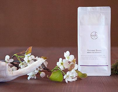 Oollo Tea Branding