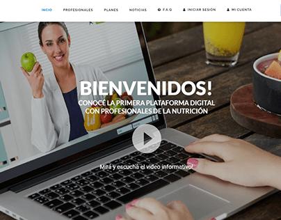 Nutricionistas Online Desarrollo Web Wordpress