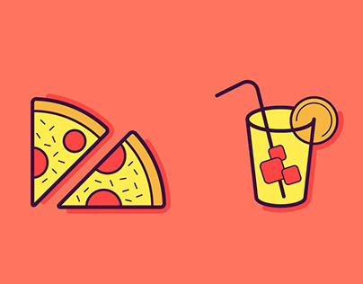 Kitchen & Food Icons