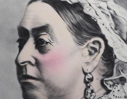 Queen Victoria repaint.