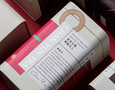 CHAN YUN TEA | 蟬蘊茶系列包裝設計