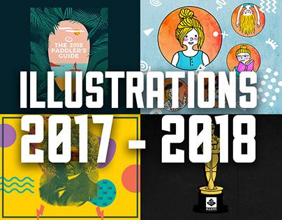 Illustrations 2017-2018