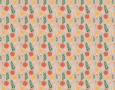 Patterns | Floral whimsy