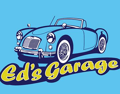 Huisstijl Ed's Garage