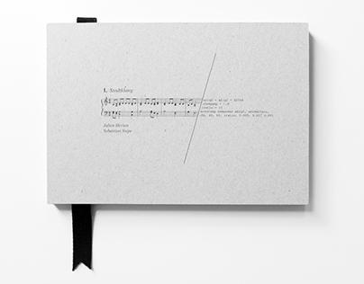 Stadtklang — Book design