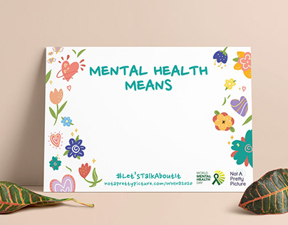 World Mental Health Day 2020 - Mental Health Means