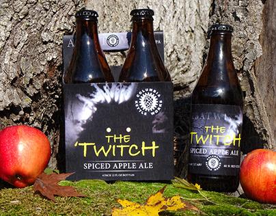 'The Twitch' Seasonal Beer Label Design